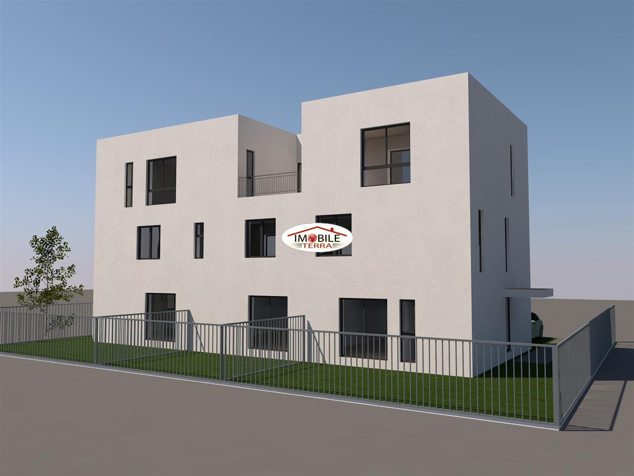 Casa moderna singur in curte zona selimbar for Casa moderna romania