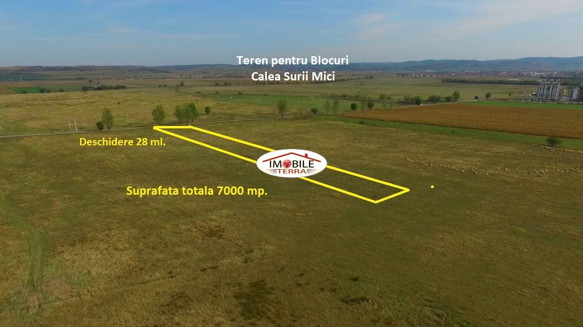 Teren de vanzare pe Calea Surii Mici, Sibiu