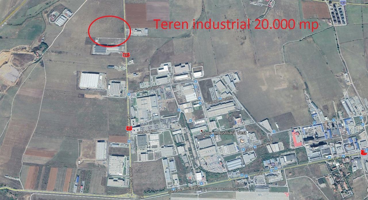 Teren zona industriala Sibiu