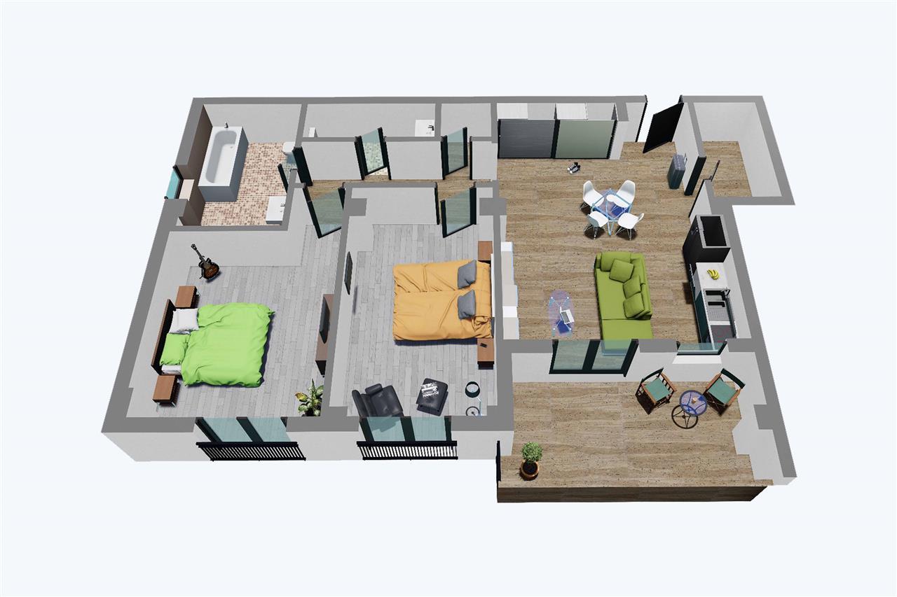 Apartament 3 camere, Balanta Residence (Etaj Tip 1)