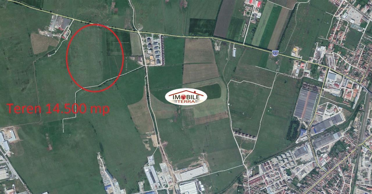 Teren de vanzare in Sibiu pe Calea Surii Mici