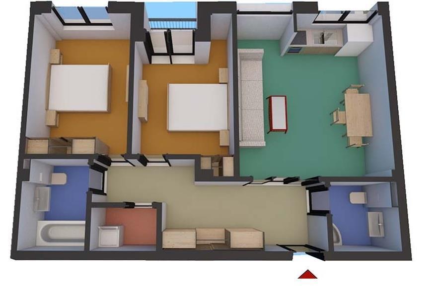 Apartament 3 camere in zona Soseaua Alba  Iulia   Sibiu