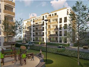 Apartament nou 3 camere, Parter, Balanta Sibiu