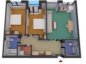 Apartament 3 camere in zona Soseaua Alba  Iulia - Turnisor Sibiu