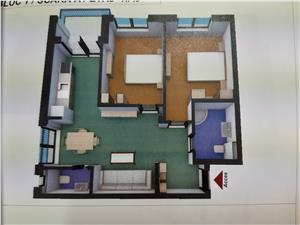 Apartament 3 camere de vanzare in Sibiu, Turnisor