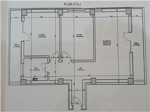 Apartament 3 camere mobilat si utilat in Turnisor