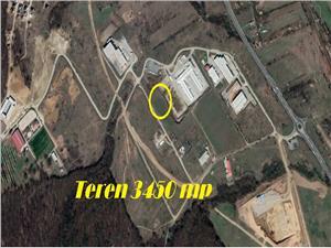 Teren de vanzare in parcul Industrial Selimbar