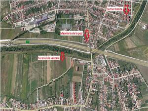 Teren de vanzare in Gusterita Sibiu