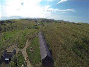 Vand 40 ha, teren agricol la 10 km de Sibiu, filmat cu drona