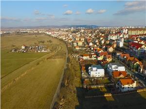 Teren constructii 100 ha in Strand Sibiu