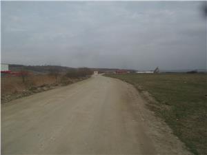Teren de vanzare in Cristian zona Industriala langa Avicola