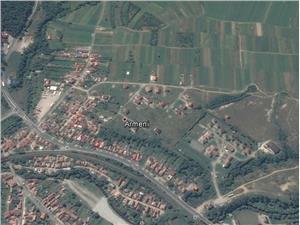 Teren intravilan de vanzare in Talmaciu in zona Armeni