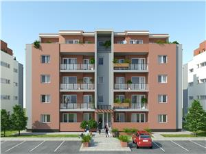 Apartament 3 camere etaj 1-3 constructie noua Piata Cluj