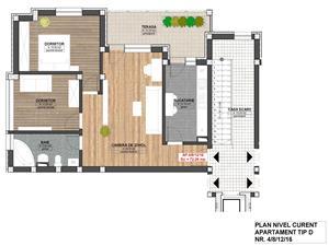 Apartament 3 camere, constructie noua Piata Cluj