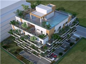 Penthouse cu acces la piscina si jacuzzi, zona Dedeman Sibiu