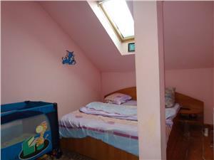 Apartament cu 3 camere la mansarda de vanzare in Sibiu