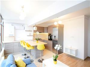 Apartament mobilat de inchiriat central Sibiu