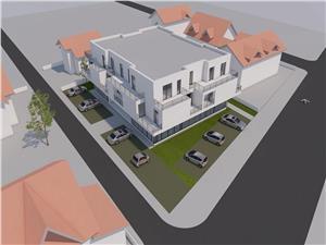 Apartament 4 camere cu 3 terease in Selimbar, zona Brana