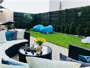 Apartament mobilat, 2 camere si gradina in Selimbar
