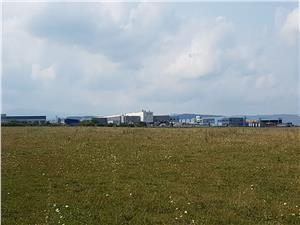 Teren 10000 mp de vanzare in zona industriala vest Sibiu