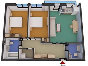 Apartament nou 3 camere de vanzare in zona Soseaua Alba Iulia - Sibiu