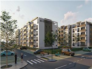 Ansamblul Rezidential Balanta vinde Apartament 2 camere, etajul 1