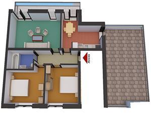 Apartament nou 3 camere de vanzare in zona Alba Iulia - Sibiu
