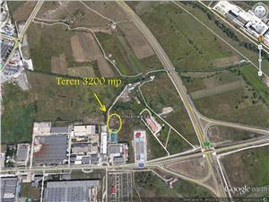 Teren pentru constructie hala in zona industriala Sibiu