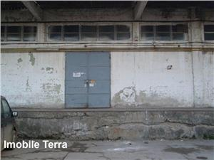 Hala cu rampa pentru TIR  1000 mp teren si 200 mp utili, de inchiriat in Sibiu